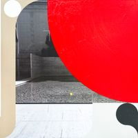 Barcelona Pavilion no. 1 by Heejoon Lee contemporary artwork painting, works on paper, photography, print