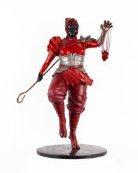Good is bad and bad is good by Mary Sibande contemporary artwork sculpture