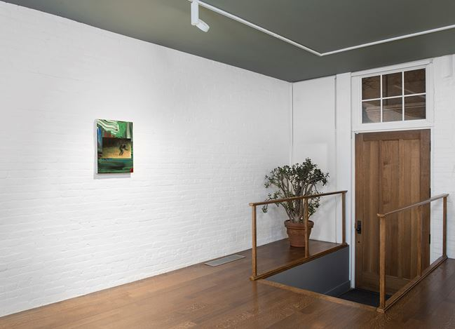 Exhibition view: Richard Patterson, Solo Exhibition, Timothy Taylor 16x34, New York (27 January–25 March 2017). © Richard Patterson. Courtesy the Artist and Timothy Taylor Gallery.