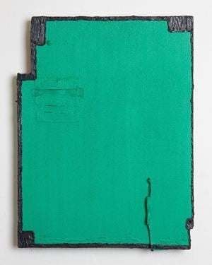 Untitled (green) by Louise Gresswell contemporary artwork