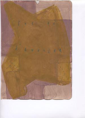 par où s'envoler by Arpaïs Du Bois contemporary artwork painting, mixed media