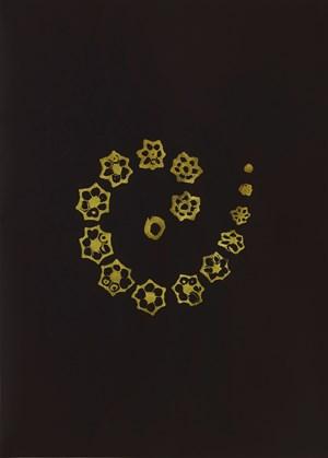 Golden Singular – Okra Spiral by Haegue Yang contemporary artwork