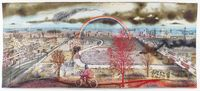 Battle of Britain by Grayson Perry contemporary artwork textile