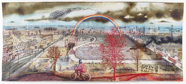 Battle of Britain by Grayson Perry contemporary artwork