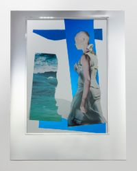 Assemblage - Blue, Silver (Radioactive Avatar #23) by Isaac Julien contemporary artwork mixed media