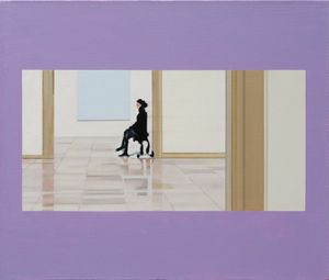 In the Museum 2021 D by Yang Bodu contemporary artwork painting