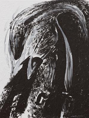 Capter l'énergie par la posture du cavalier by Ma Desheng contemporary artwork