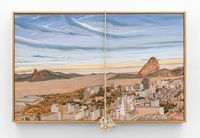 Rio desde Parque de las Ruínas by Alberto Baraya contemporary artwork painting, sculpture