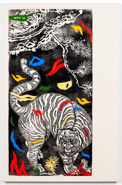Meow (Miro) by Kour Pour contemporary artwork