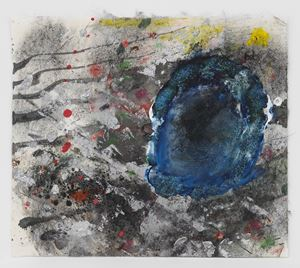 Space Flower #9 by Jack Whitten contemporary artwork
