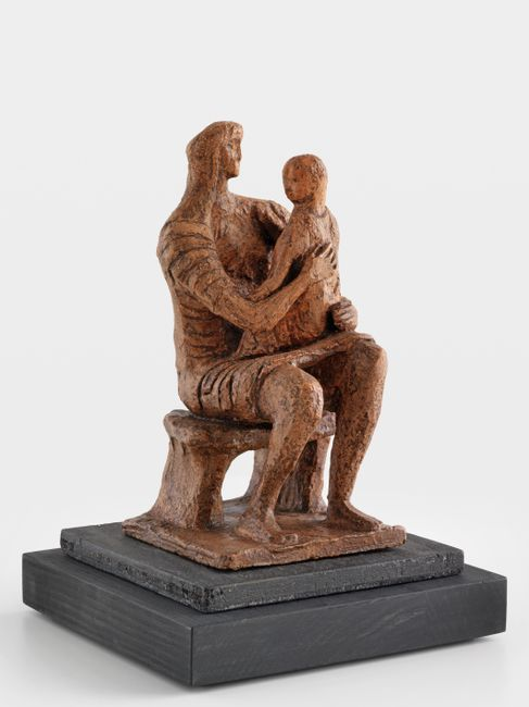 Madonna and Child by Henry Moore contemporary artwork