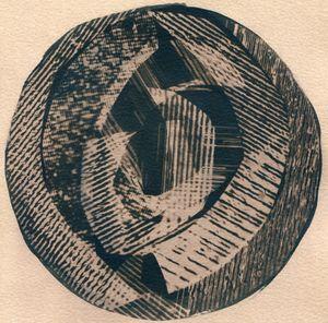 Rings On A Tree 3 by Corinne De San Jose contemporary artwork