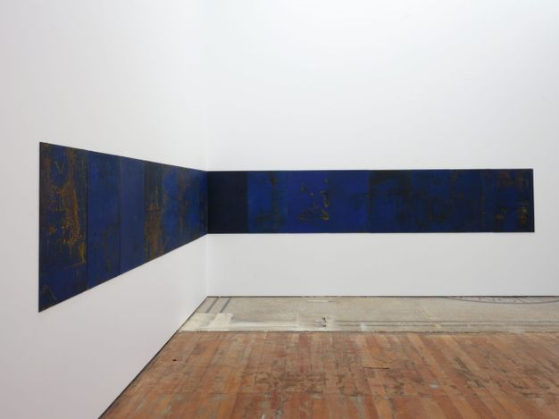 Exhibition view: Richard Frater & Pauline Rhodes, Bluets, Michael Lett, Auckland (21 April–22 May 2021). Courtesy Michael Lett.