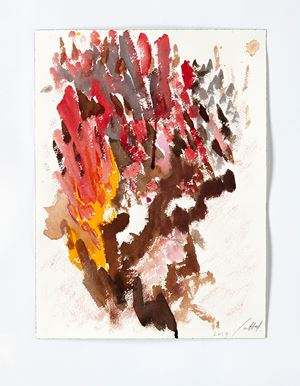 Tree II by Simone Fattal contemporary artwork