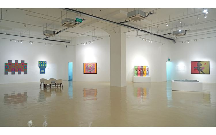 Exhibition view:Choong Kam Kow, The Shape of Things: Conceptual Configurations, Gajah Gallery, Singapore (17 October–10 November 2019) Courtesy Gajah Gallery.