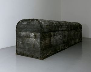 Allegory V-Lead Coffin by Toshikatsu Endo contemporary artwork