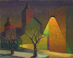 La città by Salvo contemporary artwork