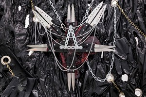 INTESTINOLOGY Series02: The Black Paraphernalia by Joo Choon Lin contemporary artwork