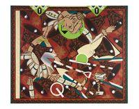 Found Buried #6 by Lari Pittman contemporary artwork painting