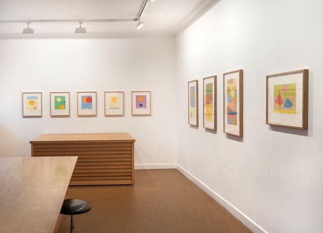 Exhibition view: Etel Adnan,Prints, Galerie Lelong & Co., 13 Rue de Téhéran, Paris (23 January–7 March 2020). Courtesy Galerie Lelong & Co. Paris.