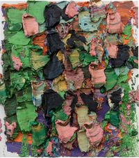 Weeping Willow–Flying Catkins by Zhu Jinshi contemporary artwork painting