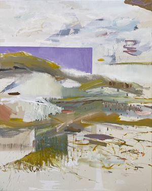 Sea scene no.11 ( in purple) by I-Chin Liao contemporary artwork