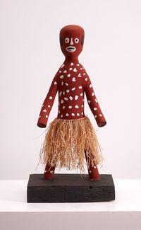 Apalech Man by Aurukun Artists contemporary artwork sculpture