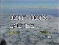 Voie-Voix Lactee by Kim Soun-Gui contemporary artwork moving image