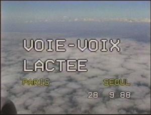 Voie-Voix Lactee by Kim Soun-Gui contemporary artwork
