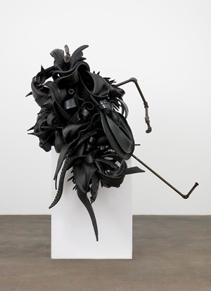 Conversion by Chakaia Booker contemporary artwork
