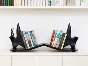 Book Ends by Barry Flanagan contemporary artwork