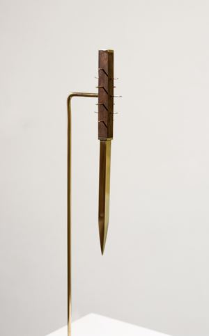 Stiletto Dagger by Aaron Bezzina contemporary artwork