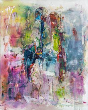 Sound World (Redon) by Robert Muntean contemporary artwork