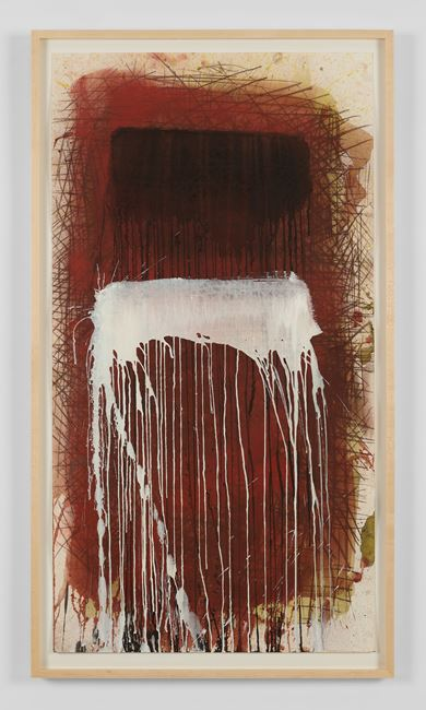 February Series II by Pat Steir contemporary artwork