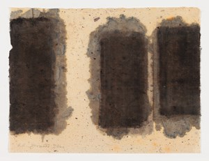 Burnt Umber & Ultramarine by Yun Hyong-keun contemporary artwork
