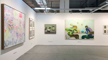 Contemporary art exhibition, Guangzhou Contemporary Art Fair at A Thousand Plateaus Art Space, Guangdong, China