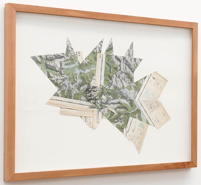 Bad Mapping #1 by Rob Hood contemporary artwork