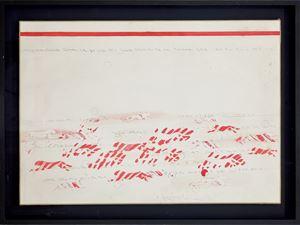 Senza titolo (Pantere) by Alighiero Boetti contemporary artwork