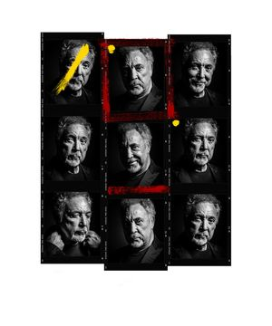 Tom Jones Contact Sheet by Andy Gotts contemporary artwork photography, print