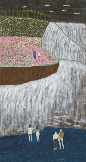 Song of Niagara Falls by Chu Hing-Wah contemporary artwork