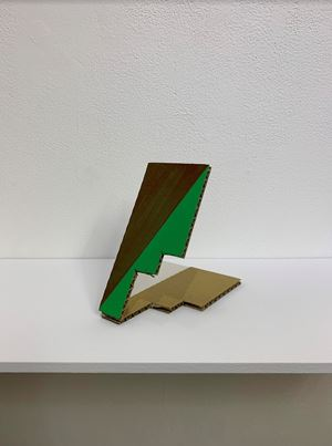 Sloping Sculpture #16 by Tomii Motohiro contemporary artwork