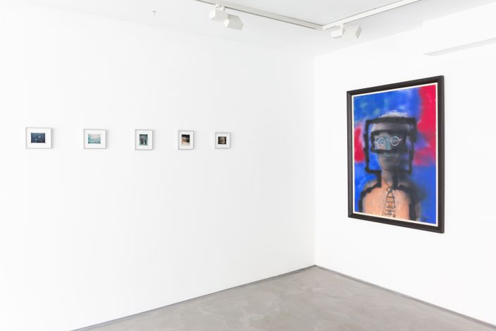 Exhibition view: Sir Sidney Nolan,Polaroids, Informality, Henley on Thames (17 June–31 July 2021). Courtesy Informality.