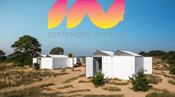 Contemporary art art fair, September Art Fair at The Bridge at David Zwirner, 19th Street, New York, USA