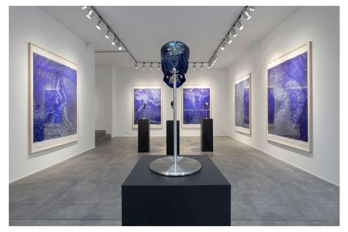 Exhibition view: Jan Fabre,L'Heure Sauvage, Templon, Brussels(9 January–22 February 2020). © Courtesy Templon, Paris - Bruxelles. Photo: Isabelle Arthuis.