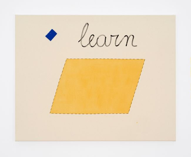 Untitled (learn) by Luca Frei contemporary artwork