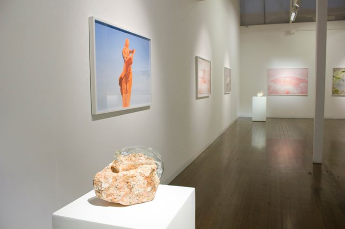 Exhibition view: Honey Long & Prue Stent,Phanta Firma, Arc One Gallery, Melbourne (22 May–23 June 2018). Courtesy Arc One Gallery.