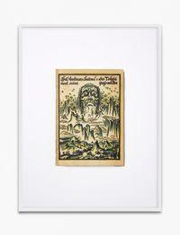Lou Andreas Salome, Der Teufel und seine Grossmutter, 1922, Eugen Diederichs Verlag, Jena, Umschlagzeichnung Gustav Wolf by Annette Kelm contemporary artwork print