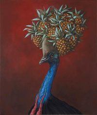 Tropical by Joanna Braithwaite contemporary artwork painting