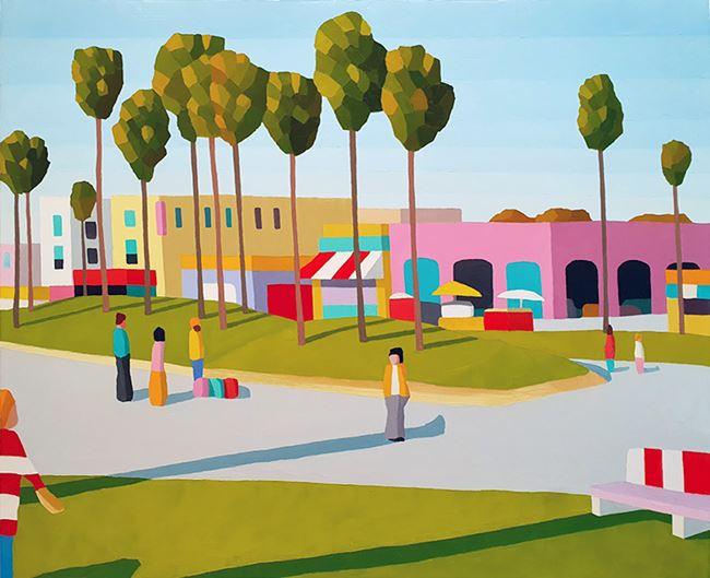 the break of dawn by Michael Muir contemporary artwork