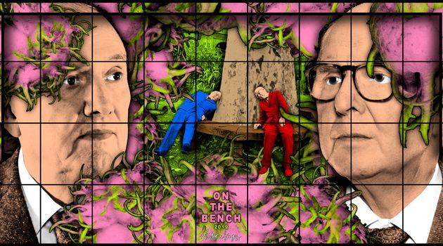 Gilbert & George contemporary artist